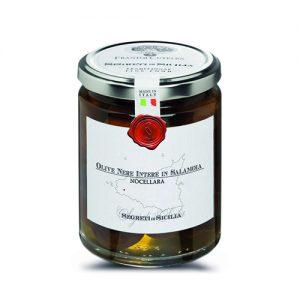 Frantoi Cutrera Schwarzen Oliven