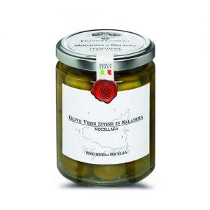 Frantoi Cutrera grünen Oliven